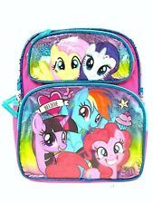 "Toddler My Little Pony 12"" Mid Size Backpack - Believe"