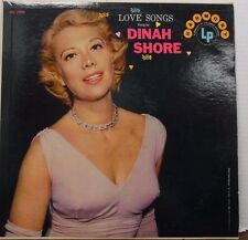 Love Songs sung by Dinah Shore 33RPM HL-7099   100916LLE