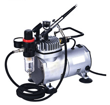 Heavy Duty Airbrush Kit with Compressor Set