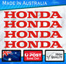 Honda style Stickers - Red set of 4 JDM,  Civic Nissan Outboard Bike decal