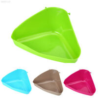 4FEE Pet Toilet Litter Tray Box for Cat Mouse Rat Hamster Mice Small Animal Plas