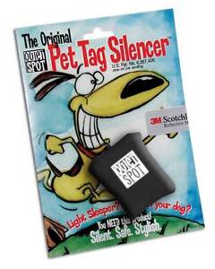 Quiet Spot Pet Tag Silencer - New