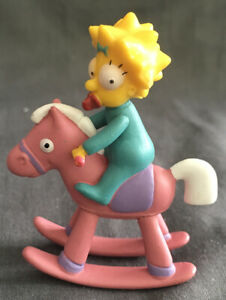 Action Figure The Simpsons Maggie On Rocking Horse approx 3 inch 2007