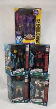 Hasbro Transformers Gift Lot Optimus BumbleBee, Hoist Iron Work Cliff Jumper