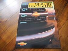 1999 99 CHEVY SILVERADO BROCHURE LS LT Z71