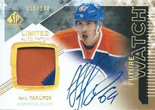 (HCW) 2013-14 SP Authentic NAIL YAKUPOV Patch Auto RC 65/100 Rookie Upper Deck