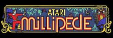Millipede Video Game Marquee High Quality Metal Magnet 2 x 6 inches 9161