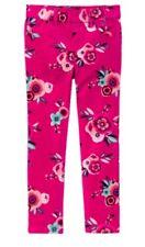 Nwt Gymboree Ready Jet Go! Floral Corduroy pants Girl Size 12 Pink