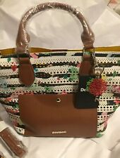 New DESIGUAL Florida Marine Handbag /Shoulder  Bag