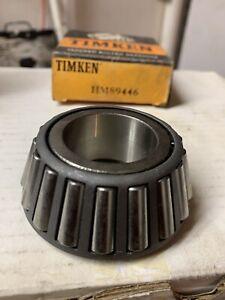 Rr Pinion Bearing HM89446 National Bearings Timken