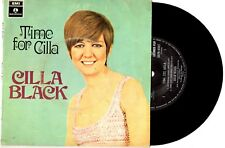 "CILLA BLACK - TIME FOR CILLA - RARE EP 7"" 45 VINYL RECORD PIC SLV"