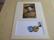 Robert Baden-Powell Scouting photograph and original USA FDC mount size A4