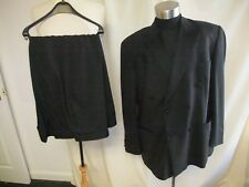 "Mens Dinner Suit M&S black, jacket 48""M, trousers waist 48"" inside leg 29"", 0229"