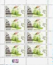Czech stamp sheet - EUROPA: Thinking Green - 8 stamps