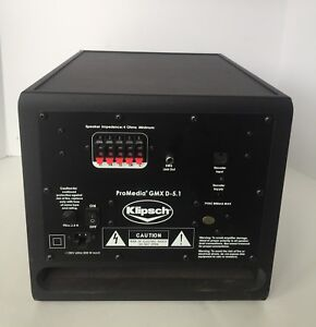 Klipsch ProMedia GMX D-5.1 Speaker