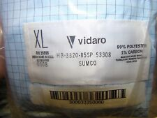 Vidaro Cleanroom Pullover Hood, Blue, XL, Cleaned and Resealed