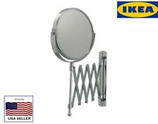 New IKEA extendable magnifying Wall Mount makeup/shaving FRACK mirror