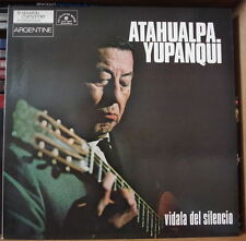 """ATAHUALPA YUPANQUI """"VIDALA DEL SILENCIO"""" GATEFOLD COVER FRENCH LP"""