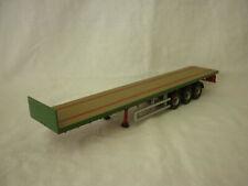 Corgi Modern Truck/Heavy Haulage Plain Green Flatbed Trailer
