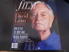 David Lean, Natasha Richardson - American Film Magazine 1990