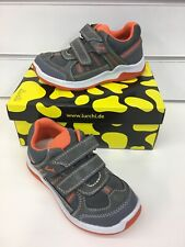 Lurchi By Salamander Marcus Boys Casual Shoes In Grey with Orange (New Season)