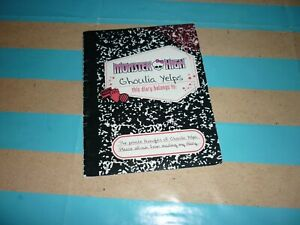 Monster High Ghoulia Yelps Doll Diary/Booklet
