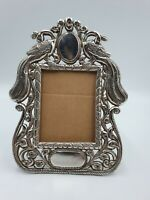 Vintage Art Nouveau  Solid Silver Decorative Picture / Photo Frame