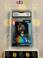 2018-19 Panini Prizm Patrick Ewing #105 Silver Refractor - 10 GEM MT GMA Graded