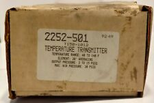 Barber Colman 2252-501 Robertshaw Temperature Transmitter