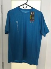 Nwt Ua Tech™ Patterned Men's Running Short Sleeve Shirt Nwt M Medium