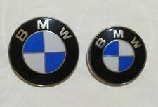 Coppia Logo per BMW Serie 3 320 325 330 Touring Anteriore Posteriore Stemma