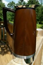 1940's Landers Frary Clark Universal Mid Century Modern Insulated Carafe Thermos