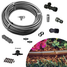 Garden Drip Irrigation Kit 5 row valves 100ft raised bed vegetable irrigation