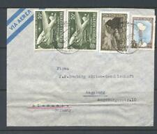 Argentina 1951 Airmail Cover to Germany SG 826-8