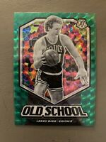 2019-20 Panini Mosaic Old School Green Prizm #8 Larry Bird BOSTON CELTICS