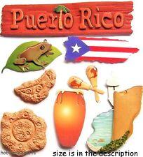 EK succès JOLEE'S BOUTIQUE 3-D autocollants - Vacances VACANCE - Puerto Rico