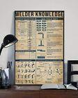 Welder Knowledge Elementary Welding Symbols Poster Vintage Art Poster no frame