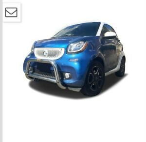 Broadfeet Bull Bar Bumper Guard for Smart 453 Fortwo 2016-2018 Stainless Steel