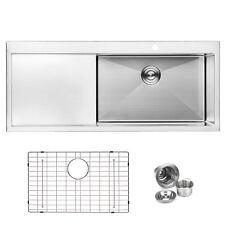 Stainless Steel Drop In Top Mount Kitchen Bathroom