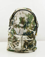 New. OFF-WHITE by VIRGIL ABLOH Green Camouflage Cotton Backpack Bag $1195