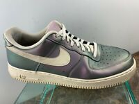 Nike Air Force 1 AF1 '07 LV8 Iridescent 3M Lace Up Retro Shoes 823511 Sz 11