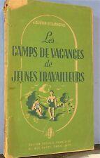 Guérin-Desjardins: Les Camps de Vacances de Jeunes travail,