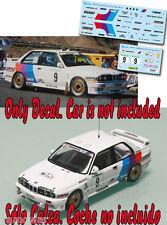Decal 1:43 John Bosch - BMW M3 - Rally El Corte Ingles 1988
