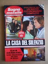 SOGNO MENSILE n°105 1972 Fotoromanzo - Gaia Germani Raf Vallone  [C95]