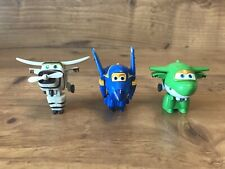 Lot of 3 Super Wings Toys Jerome Mira Bello