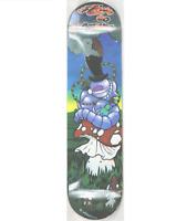 "gelb  Skateboard Deck 19,4 cm 7,63"" Absalom Alice i. Wunderland  NEU Gastlando"