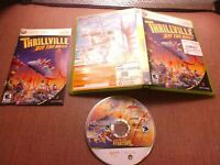 Microsoft Xbox 360 CIB Complete Tested Thrillville Off the Rails Ships Fast