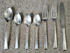 7 Towle Craftsman Sterling Silver Flatware Silverware No Mono 296g Utensils Set
