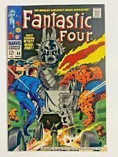 FANTASTIC FOUR #80 1st APP. TOMAZOOMA STAN LEE JACK KIRBY MARVEL 1968 FN/VF