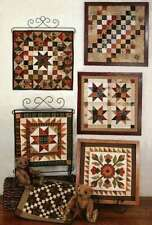 QUILT SQUARES 6- COMBINING WOOL & FLANNEL PATTERNS, From My Heart To Your Hands